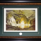 Rock Pool Clache Hills - 1954 Canada Art Frame
