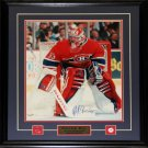 Patrick Roy Montreal Canadiens Signed 16x20 frame