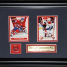 Michael Cammalleri Montreal Canadiens 2 Card Frame