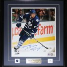 Dion Phaneuf Toronto Maple Leafs Signed 16x20 frame