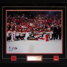 Team Canada 2010 Men's Hockey Gold Medal 16x20 Frame