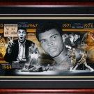 Muhammad Ali Historic Timeline Frame