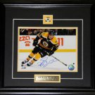 Milan Lucic Boston Bruins Signed 8x10 Frame
