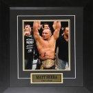Matt Serra UFC signed 8x10 frame