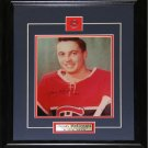 Jean Beliveau Montreal Canadiens Signed 8x10 frame