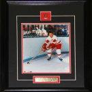 Gordie Howe Detroit Red Wings 8x10 frame