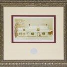 Fresh Snow Waterdown 1957 artist print frame