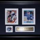 Tom Henke Toronto Blue Jays 2 card frame