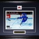 Michel Goulet Quebec Nordiques signed 8x10 frame
