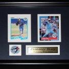 Jimmy Key Toronto Blue Jays 2 card frame