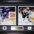 Jake Gardiner Toronto Maple Leafs signed 2 photo frame