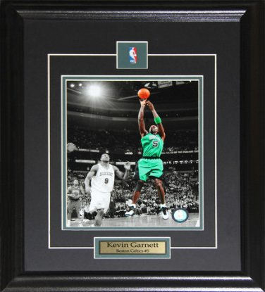 Kevin Garnett Boston Celtics 8x10 frame