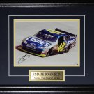 Jimmie Johnson Nascar Signed 8x10 frame