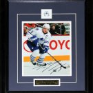 Dion Phaneuf Toronto Maple Leafs Signed 8x10 Frame