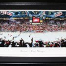 Detroit Red Wings Joe Louis Arena Panorama Frame