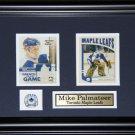 Mike Palmateer Toronto Maple Leafs 2 card frame