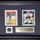 Mike Bossy New York Islanders 2 Card Frame