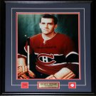 Maurice Richard Montreal Canadiens signed 16x20 frame