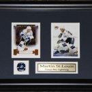 Martin St. Louis Tampa Bay Lightning 2 Card Frame