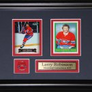 Larry Robinson Montreal Canadiens 2 Card Frame