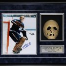 Johnny Bower Toronto Maple Leafs Signed 8x10 Goalie Mask frame