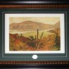 Grey October Morning - 1953 Canada Art frame