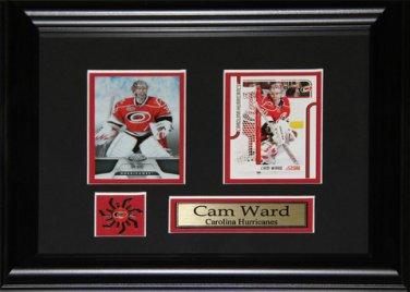 Cam Ward Carolina Hurricanes 2 Card frame