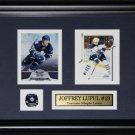 Joffrey Lupul Toronto Maple Leafs 2 card frame