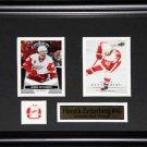 Henrik Zetterberg Detroit Red Wings 2 card frame