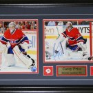 Carey Price Montreal Canadiens Signed 2 Photo Frame