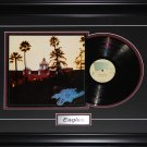 The Eagles music album record frame