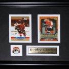 Bobby Clarke Philadelphia Flyers 2 card frame