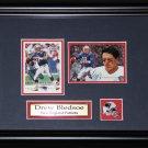 Drew Bledsoe New England Patriots 2 card frame