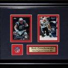 Rob Gronkowski New England Patriots NFL 2 card frame