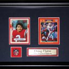 Doug Flutie New England Patriots NFL 2 card frame