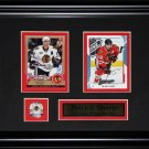 Patrick Sharp Chicago Blackhawks NHL 2 Card frame