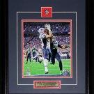 Rob Gronkowski New England Patriot Superbowl XLIX 8x10 frame