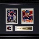Dale Hawerchuk Winnipeg Jets 2 card frame