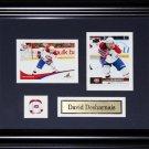 David Desharnais Montreal Canadiens 2 card frame