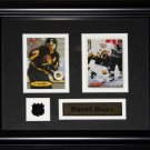 Pavel Bure Vancouver Canucks 2 card frame