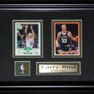 Larry Bird Boston Celtics NBA 2 card frame