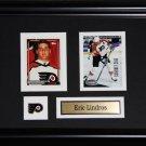 Eric Lindros Philadelphia Flyers 2 card frame