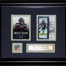 Russell Wilson Seattle Seahawks 2 card frame