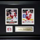 Justin Abdelkader Detroit Red Wings 2 Card Frame