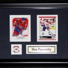 Max Pacioretty Montreal Canadiens 2 Card Frame