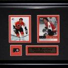 Bill Barber Philadelphia Flyers NHL 2 card frame
