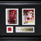 Brendan Shanahan Detroit Red Wings 2 card frame