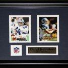 Daryl Johnston Dallas Cowboys 2 card frame
