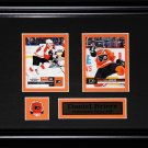 Daniel Briere Philadelphia Flyers 2 card frame