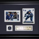 James Van Riemsdyk Toronto Maple Leafs 2 card frame